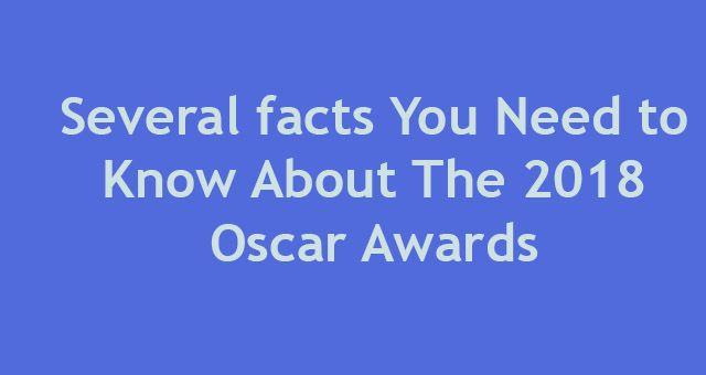 2018 Oscar Awards